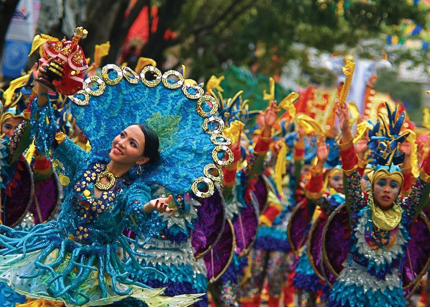 The Sinulog Festival of Cebu is the center of the Santo Nino Catholic celebrations in the Philippines