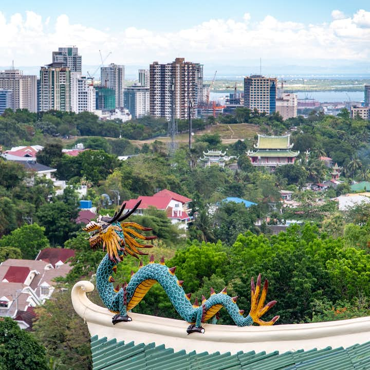 A view of Cebu from the Taoist Temple