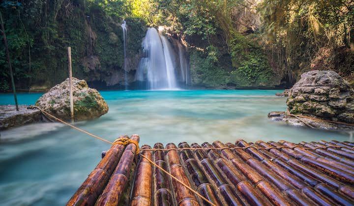 Badian Canyoneering and Moalboal Island Hopping Tour   Kawasan Falls