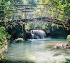 Bamboo Bridge, Kawasan Falls