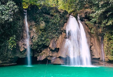 Day Trip to Osmeña Peak and Kawasan Falls | Private Tour from Cebu