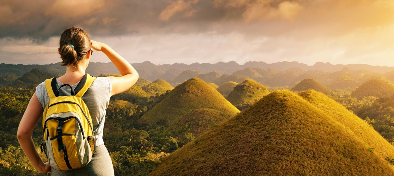Bohol Countryside Full-Day Tour with Loboc River Cruise Lunch - View of Chocolate Hills
