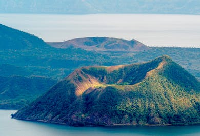 Taal Volcano Guided Hiking Tour   Day Trip from Manila