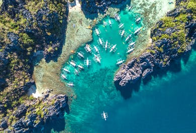El Nido Island Hopping Day Tour A   Secret Lagoon & Hidden Beaches