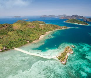 El Nido Caves & Beaches I Full-Day Island Hopping Tour B with Lunch