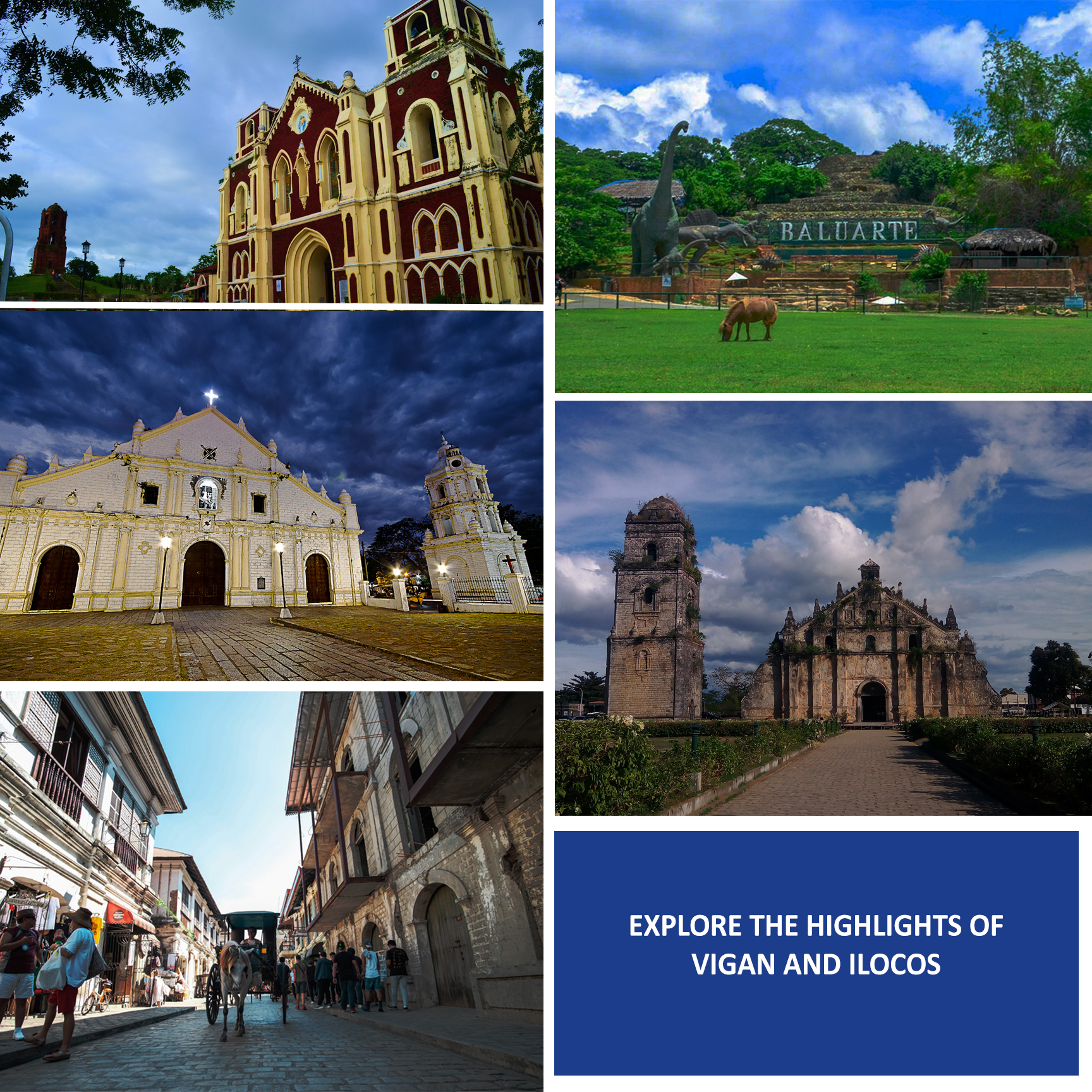 Vigan and Ilocos Norte Day Tour | With Transfers from Laoag - day 1