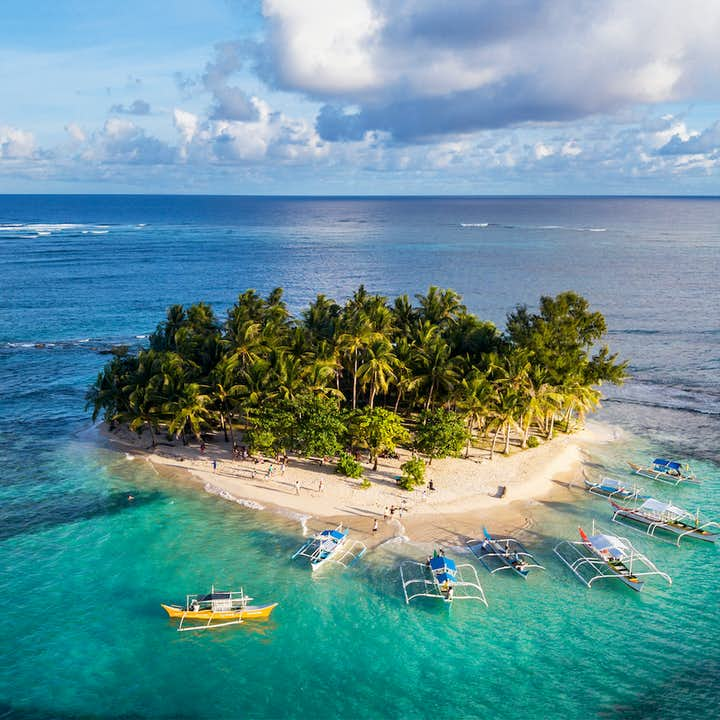 Siargao Tri-Island Hopping Tour with Lunch and Transfers