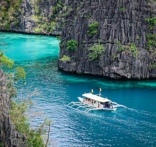 Coron Island Hopping Tour with Lunch   Kayangan Lake & Beaches