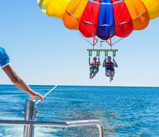 Private Parasailing in Boracay | With Hotel Pickup & Dropoff
