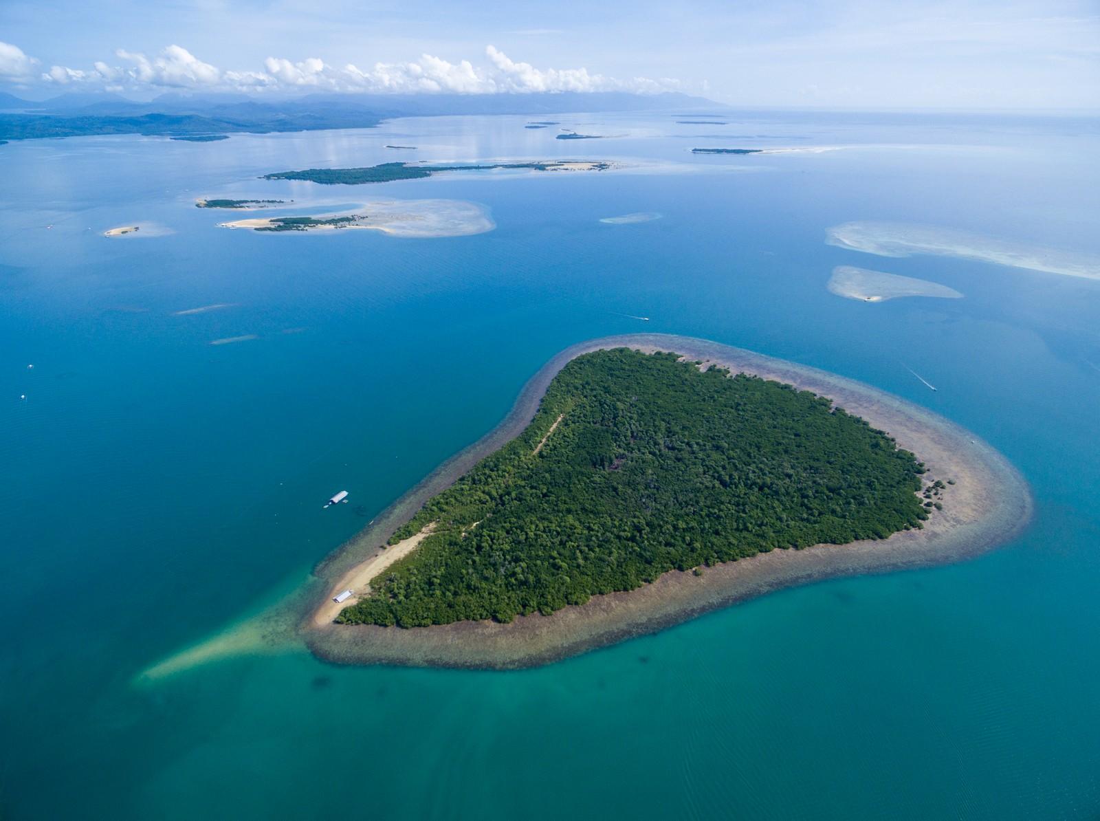 Honda Bay Aerial shot