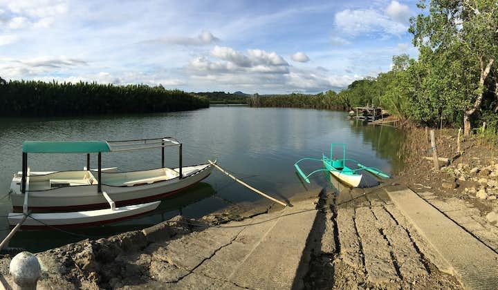 Boat at Abatan River