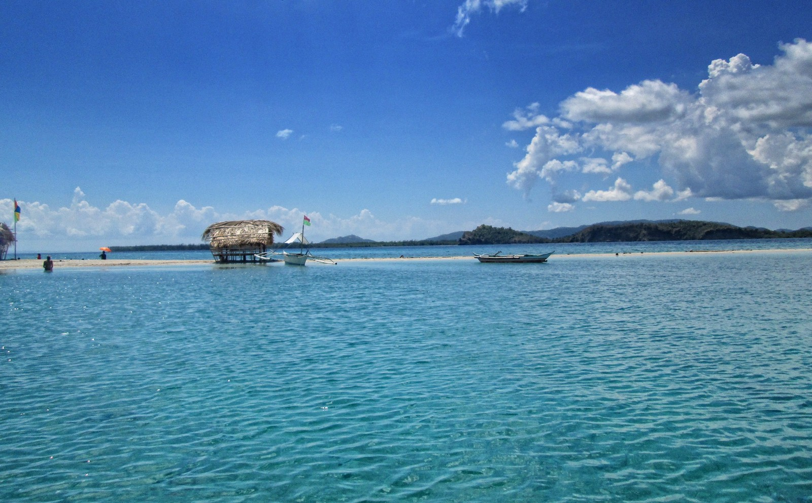 CLEAR WATERS OF JACUPAN Island