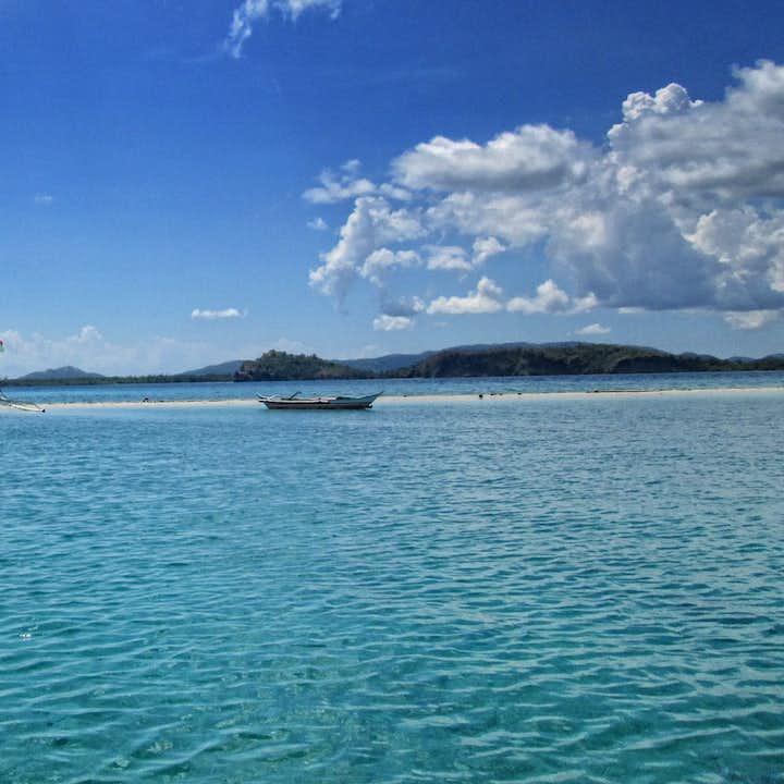 CLEAR WATERS OF JACUPAN Island