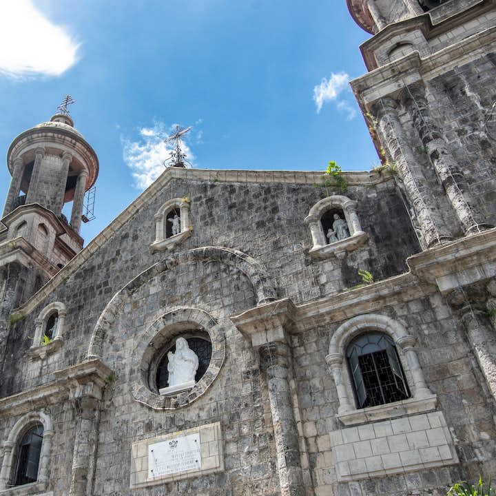Cemented structure of San Sebastian Cathedral in Iloilo