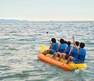 Banana Boat Ride | Group Water Adventure in Boracay