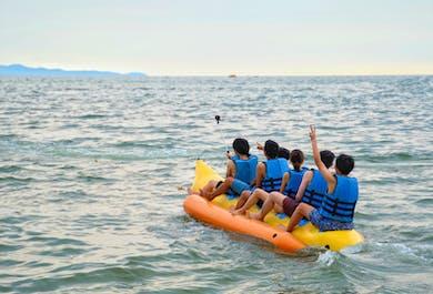 Banana Boat Ride | Group Water Adventure in Boracay