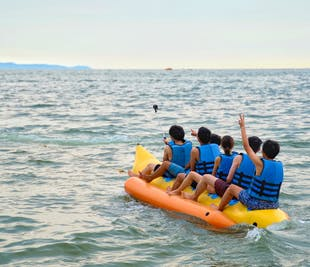 Private Banana Boat Ride | Group Water Adventure in Boracay
