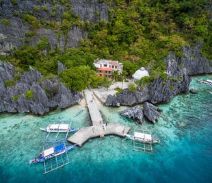 El Nido Tour C Whole Day Island Hopping Tour | Beachscapes & Snorkeling