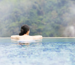 Asin Hot Spring Tour in Baguio | With Round-Trip Transfer