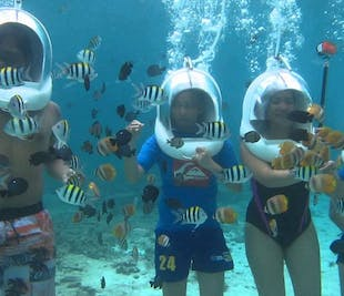Helmet Diving in Boracay | Guided Water Adventure