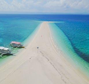 Experience Kalanggaman Sandbar | Pickup and Dropoff from Leyte