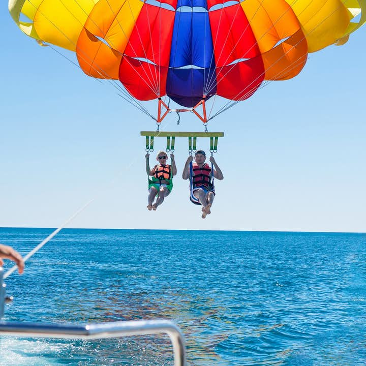 Boracay Island Parasailing Adventure I  With Transfer & Guide