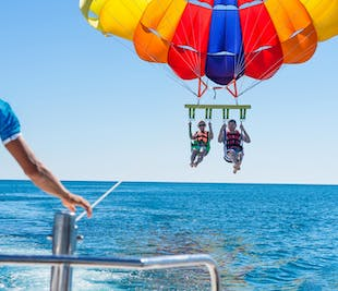 Parasailing Activity in Boracay | With Transfer and Guide