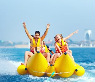 Banana Boat Ride Activity in Boracay | With Transfer and Guide