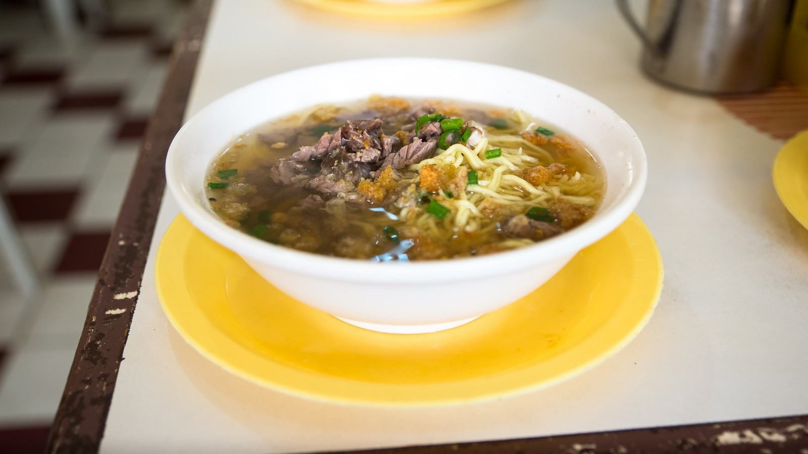La paz batchoy, a local noodle soup dish in Iloilo