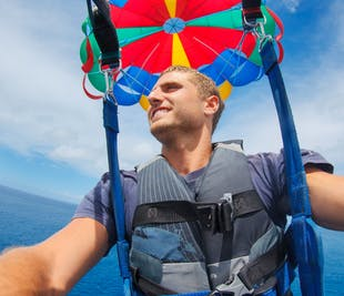 Parasailing Adventure in Panglao Island Bohol | with Transfer