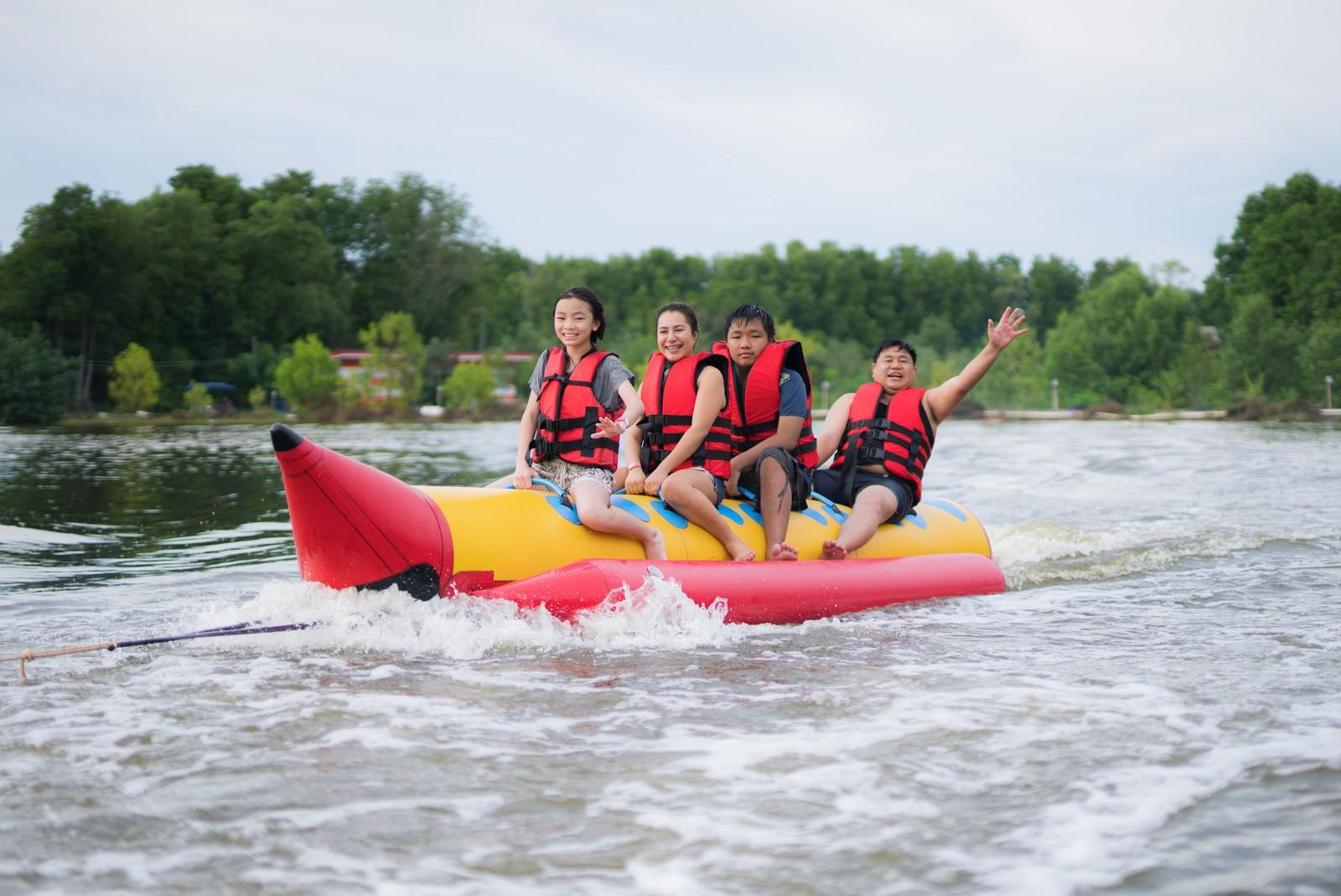 Banana Boat Ride in Panglao | Bohol Water Adventure
