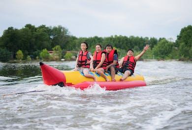 Banana Boat Ride in Panglao   Bohol Water Adventure