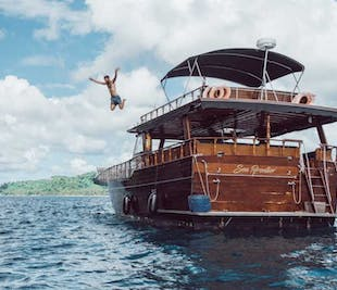 El Nido Full-Day Wooden Yacht Tour | with Lunch and Transfer