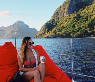 El Nido Full-Day Catamaran Yacht Tour | with Lunch and Transfer
