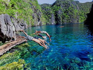 Coron Palawan Island Hopping with Lunch  | Kayangan Lake, Twin Lagoon, & More width=
