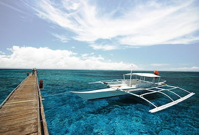 Hilutungan Island and Nalusuan Island Cebu Day Tour with Lunch & Transfer
