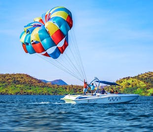 Coron Solo Flyer Parasailing Experience | With Free Clear Kayak