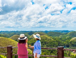 Bohol Countryside Tour with Loboc River Cruise Lunch | Chocolate Hills, Tarsiers, & More width=