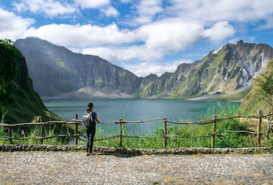 Mt. Pinatubo Guided Hiking Tour in Central Luzon | Free Hotel Pick-up in Clark