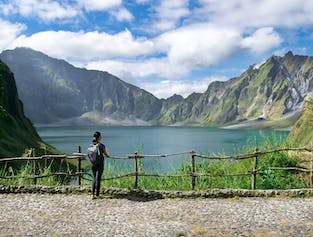 Mt. Pinatubo with 4x4 Ride Guided Hiking Day Tour | With Lunch and Transfer from Clark width=
