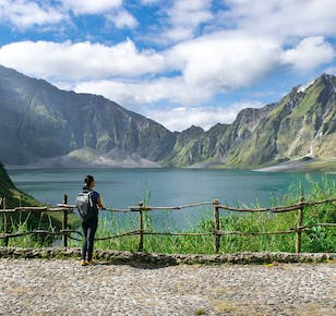 Mt. Pinatubo with 4x4 Ride Guided Hiking Day Tour   With Lunch and Transfer from Clark