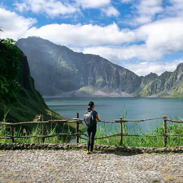 Mt. Pinatubo with 4x4 Ride Guided Hiking Day Tour | With Lunch and Transfer from Clark