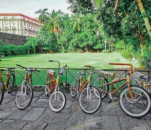 Intramuros Cycling Experience in Manila | Full Guided Bambike Tour
