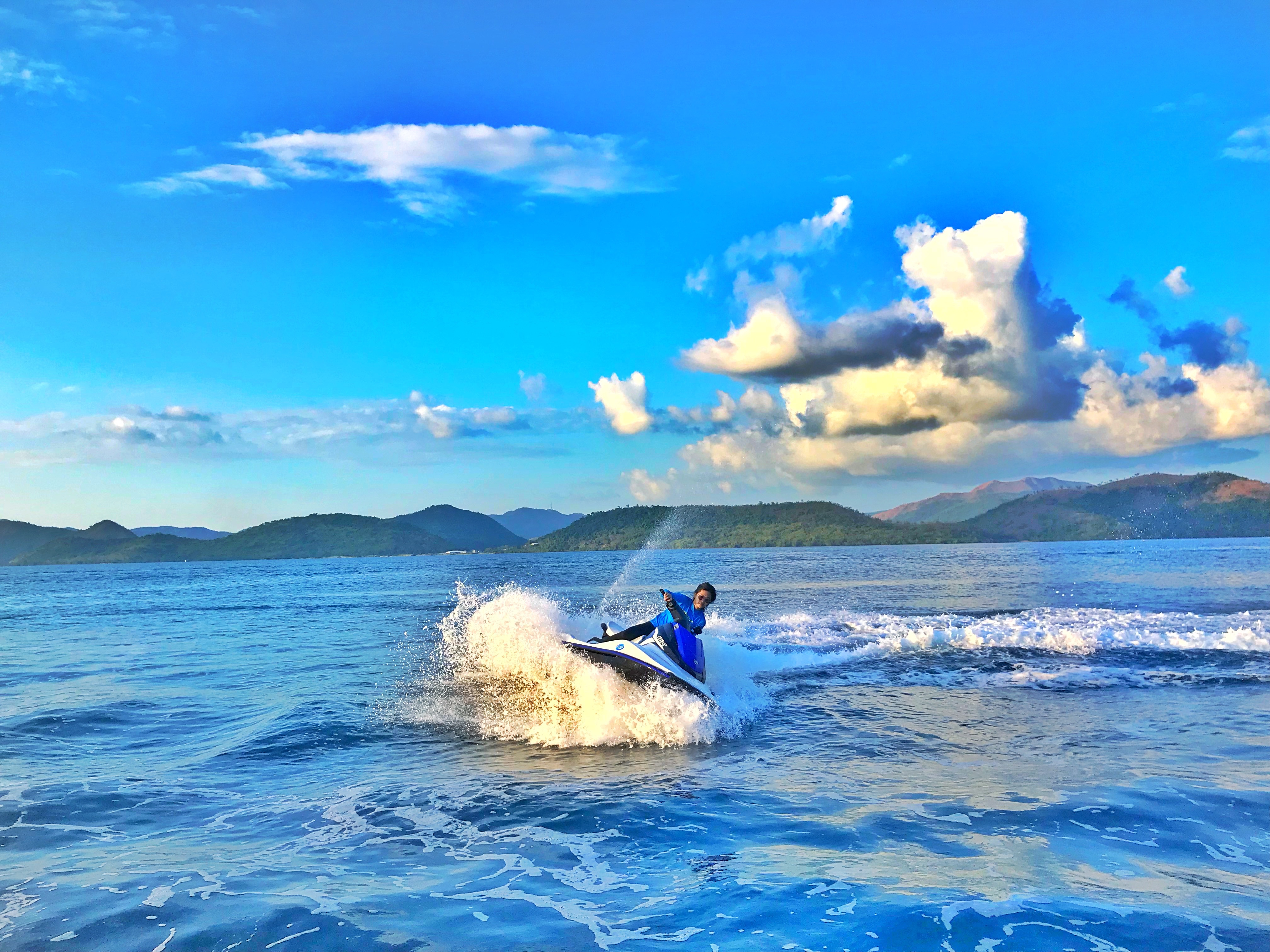 Coron Royal Island Watersports Jet Ski Experience   With Free Kayak
