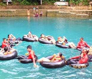 Malumpati Cold Spring & Bugang River Tour   Tubing in Boracay