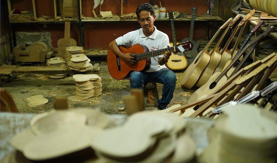 mactan alegre guitar factory