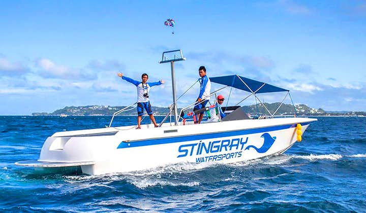 Private Speedboat Tour in Boracay   With Transfer and Guide