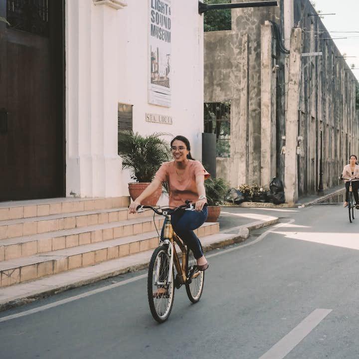 Bamboo Bike Express Guided Tour of Intramuros Manila
