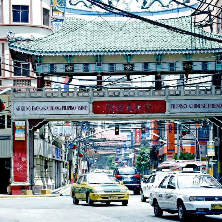 Manila Binondo Highlights & Food Tour with Chinese Cemetery