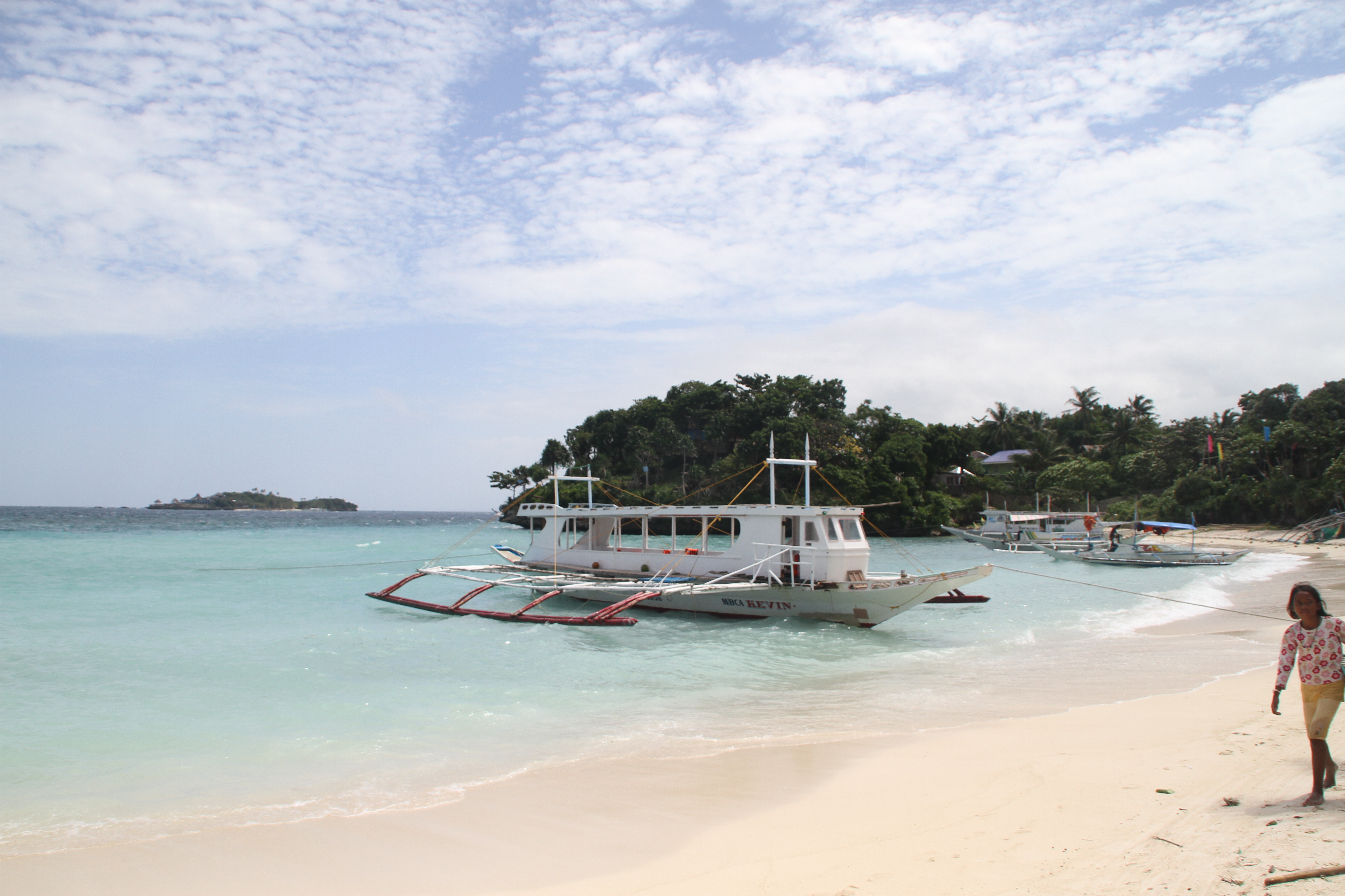 Boracay boat for Island Hopping Tour